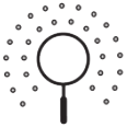 Explore magnifying glass icon