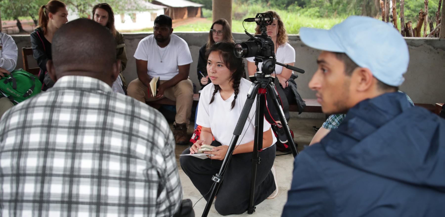 Global Social Impact Fellows Lehigh University students in Sierra Leone