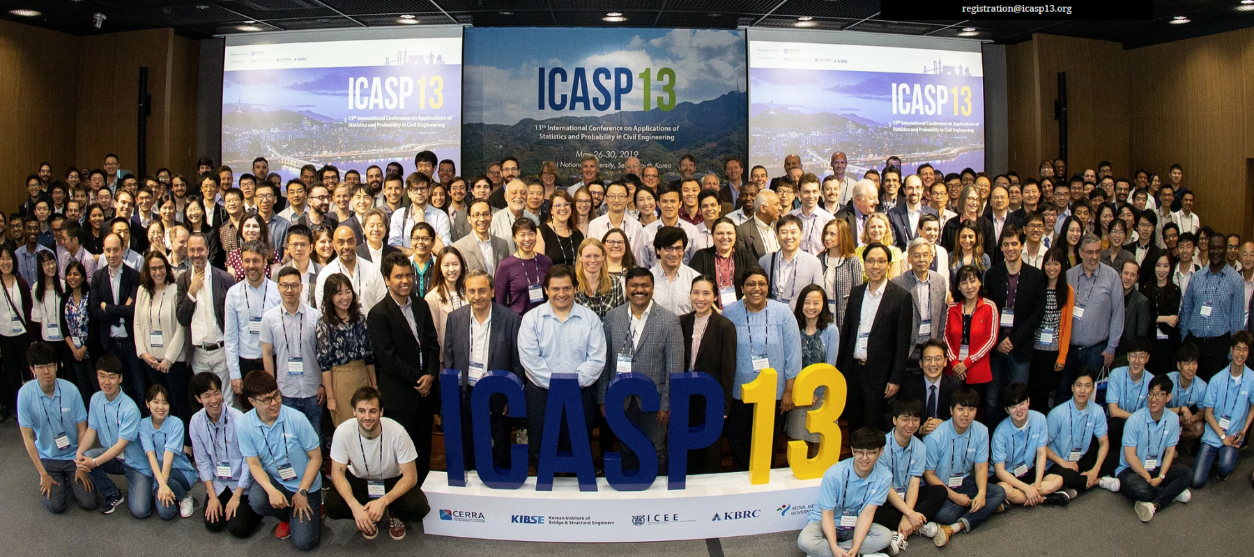 Liyang Ma used the Doctoral Travel Grant for International Connections to attend the ICASP13 conference in South Korea