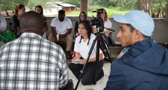 Global Social Impact Fellows Lehigh University students in Sierra Leone